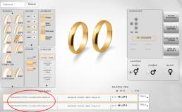 Configurador de anillos de compromiso Salamanca