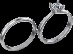Alianza-de-boda-y-anillo-de-compromiso-oro-blanco-amarillo-rosa