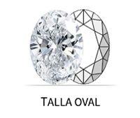 Talla oval